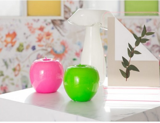 Zara Home apple-shaped candles