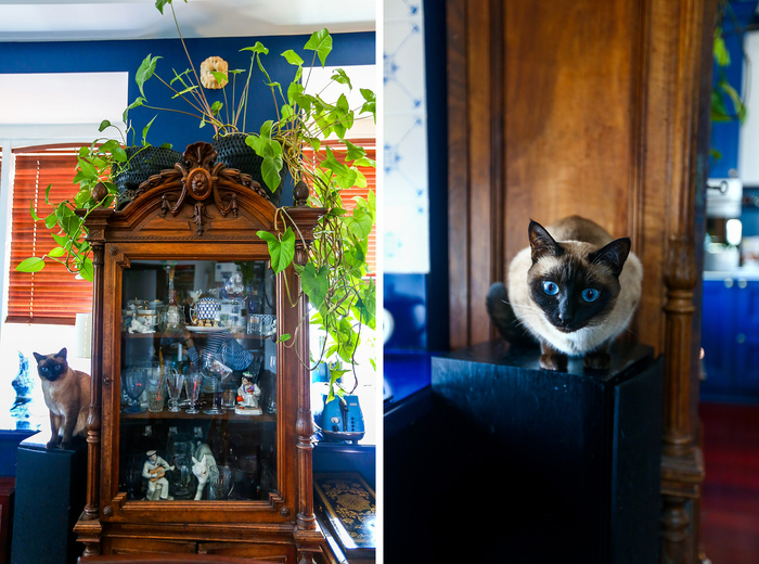 Home tour: Antique cupboard