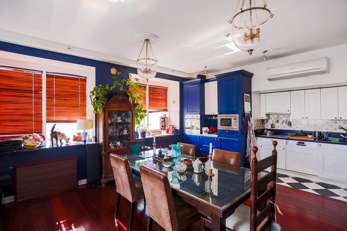 Home tour: Colonial style dining zone and kitchen