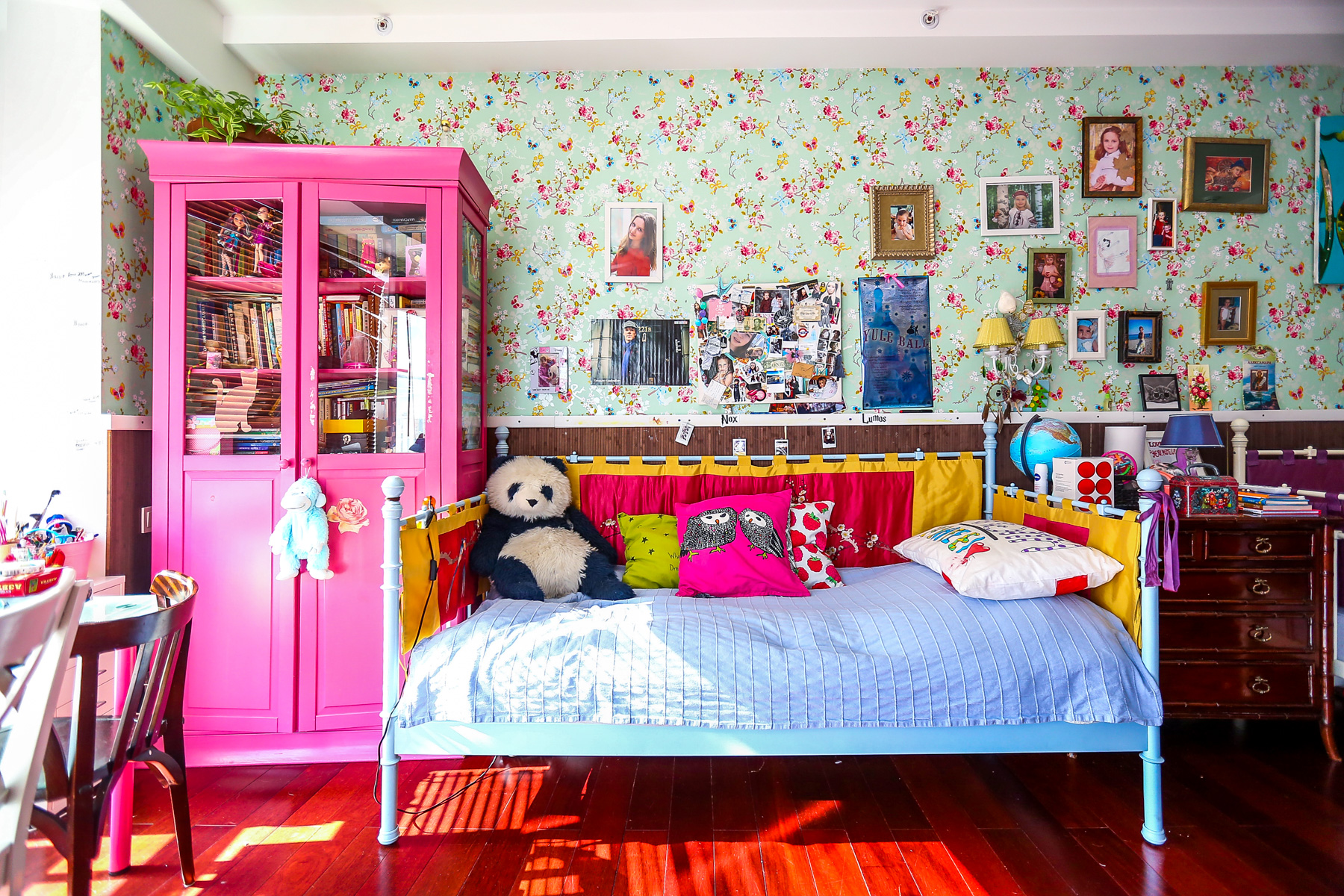 Home tour: Chinoiserie girls bedroom