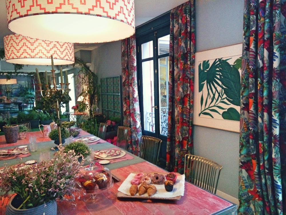 casa decor Telva dining room