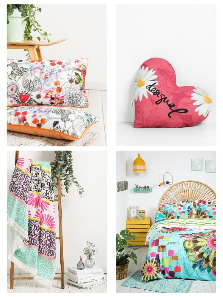 Rebajas best summer sales on home decor colour your casa - Desigual home decor ...