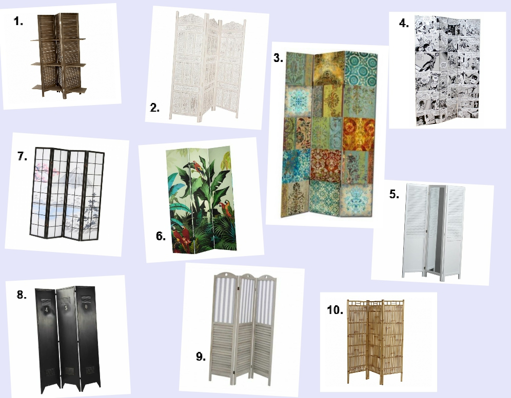 Room dividers roundup