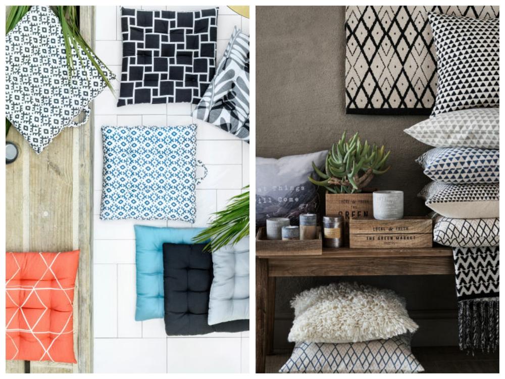 H&M Home cushions
