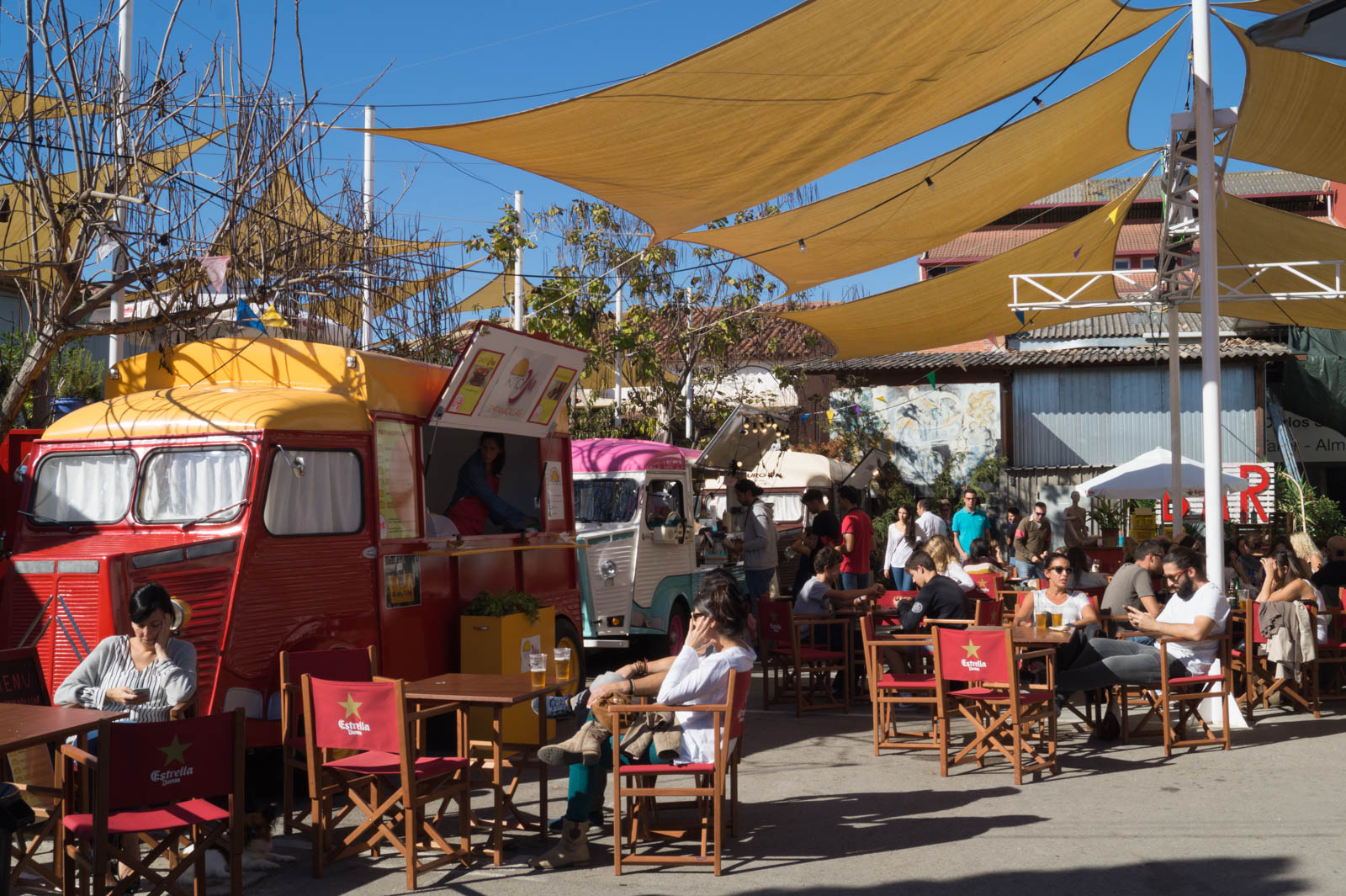Food trucks at Mercantic