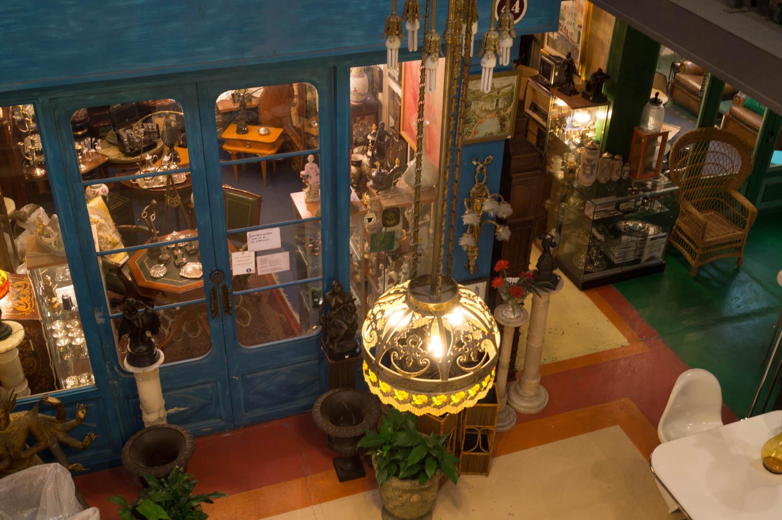 Mercantic indoor shops