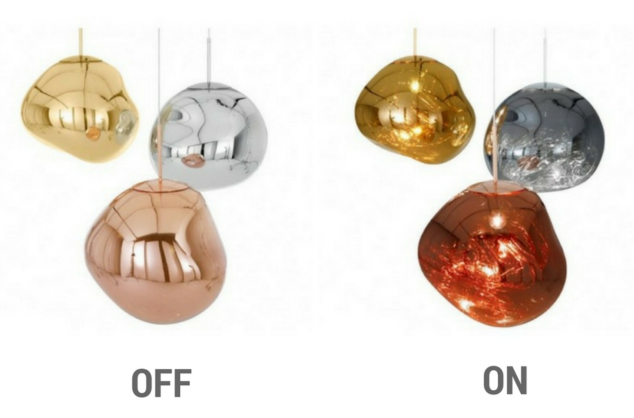 Melt pendant lights Tom Dixon