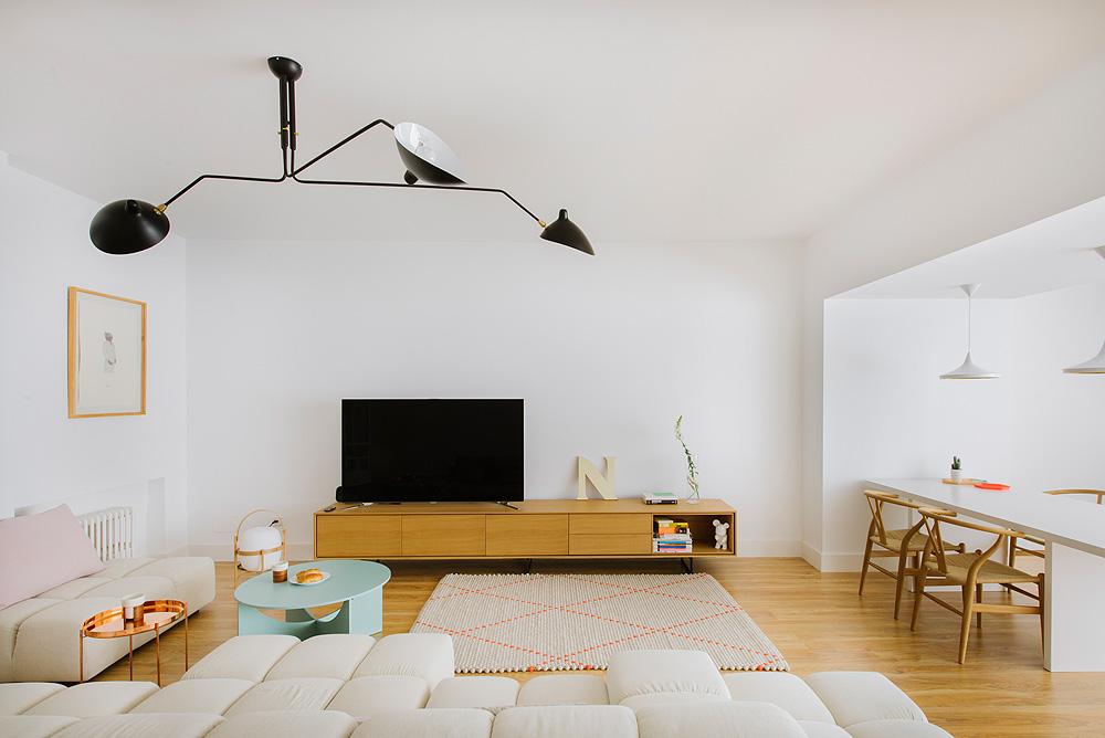 Nimú minimalist style living room