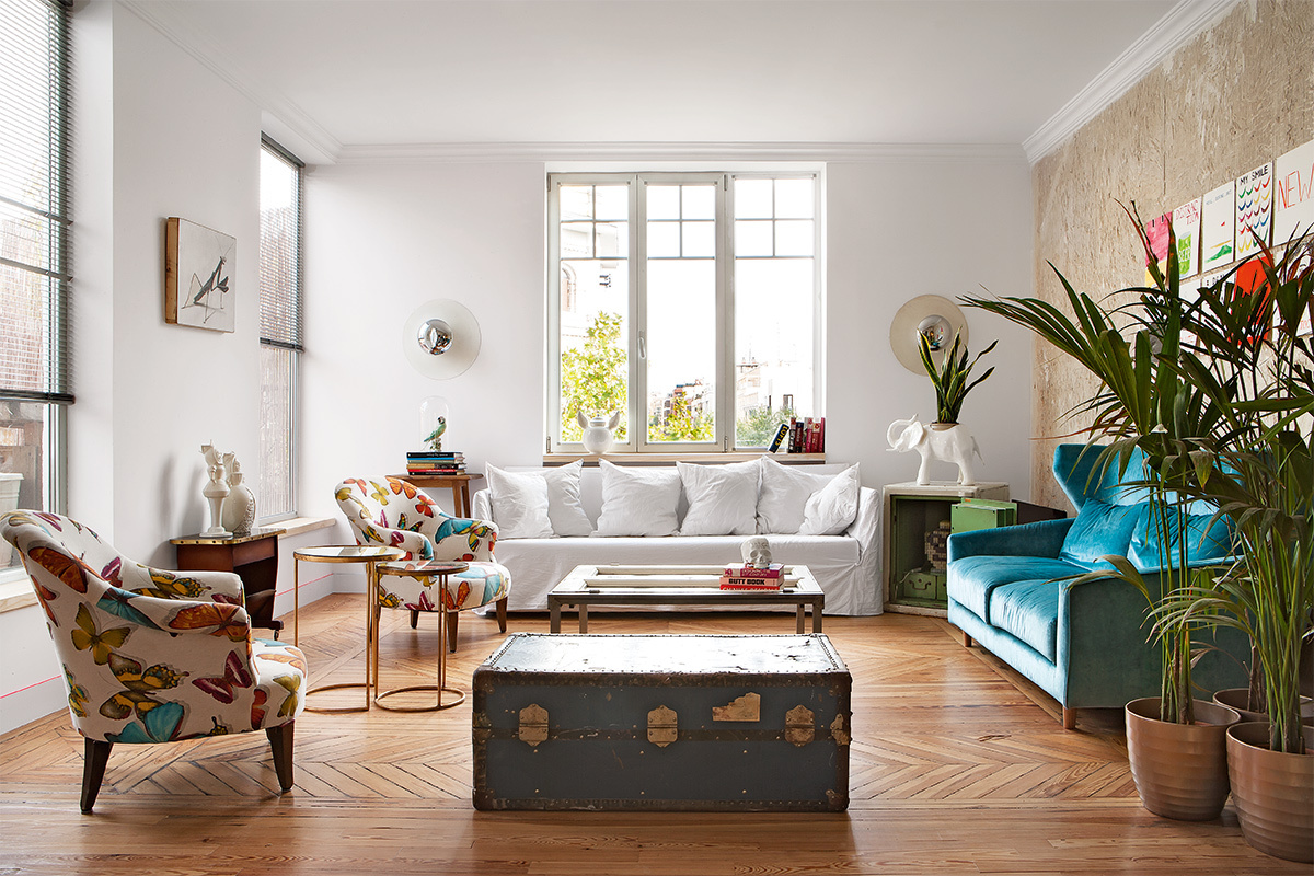 Guille García Hoz´s living room