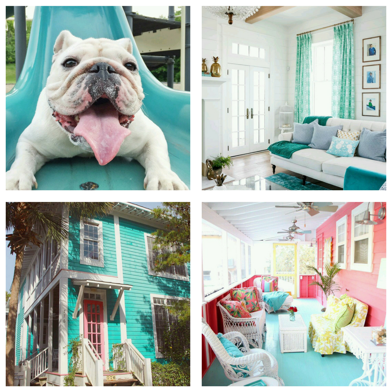 House of Turquoise Instagram collage