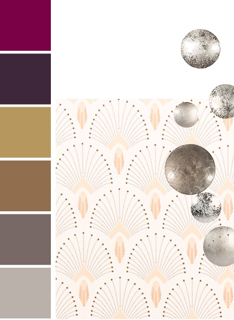 5th Avenue tendency Maisons du Monde: colour palette