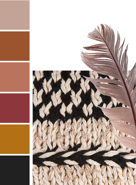 Nordik Ethnik endency Maisons du Monde collection autumn 2017 Colour Palette