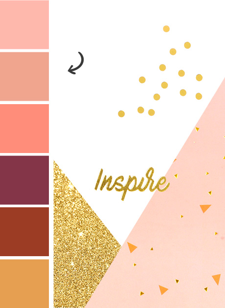 So Blush tendency Maisons du Monde collection autumn 2017 Colour Palette