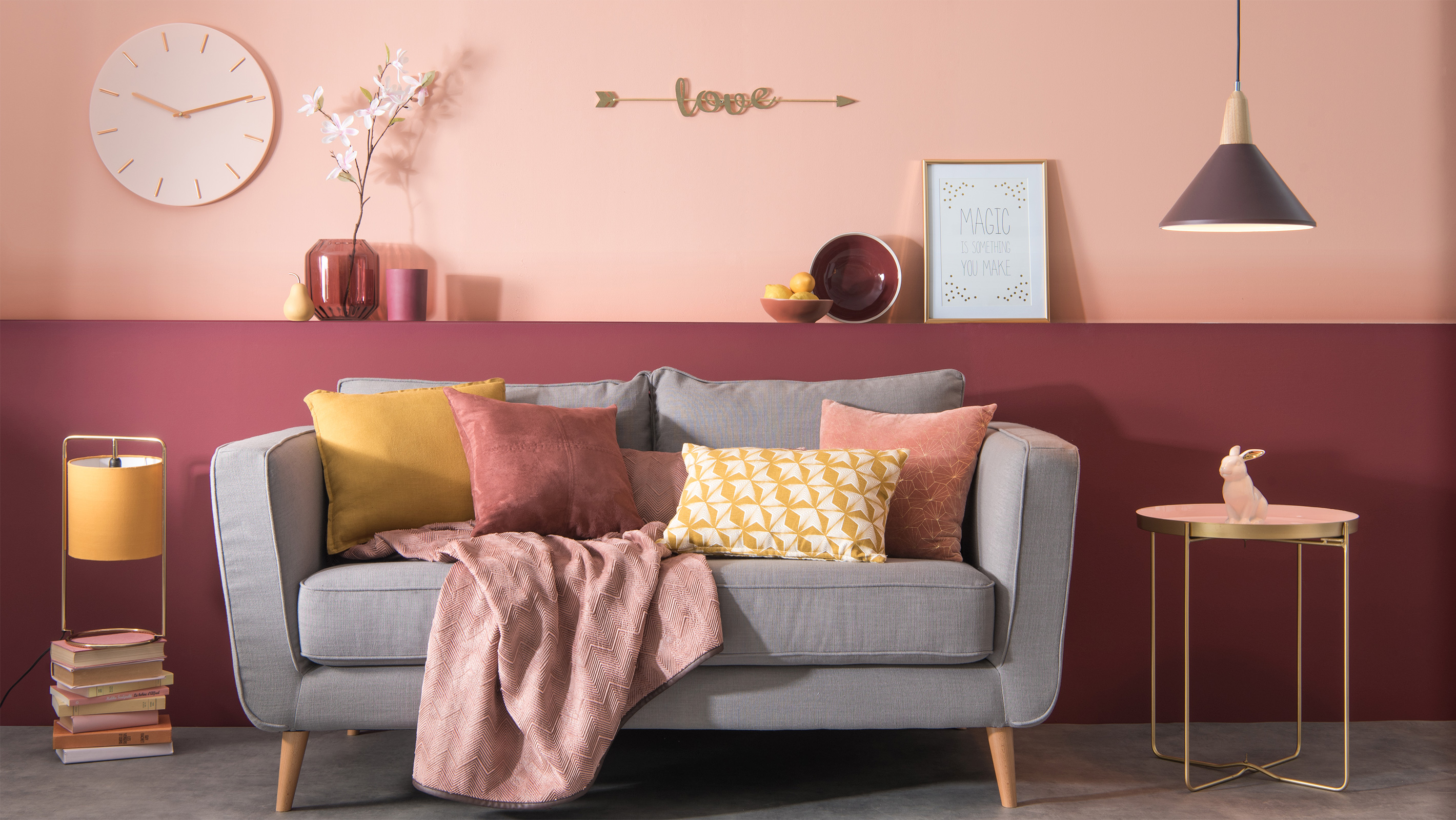So Blush tendency Maisons du Monde collection autumn 2017