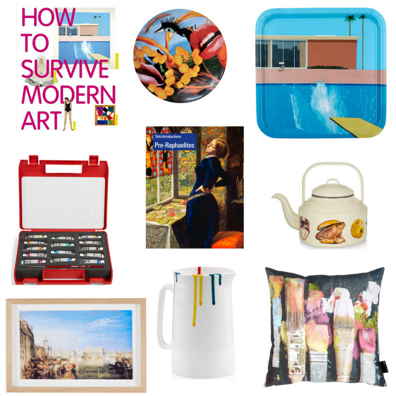 Tate Museum Shop collage