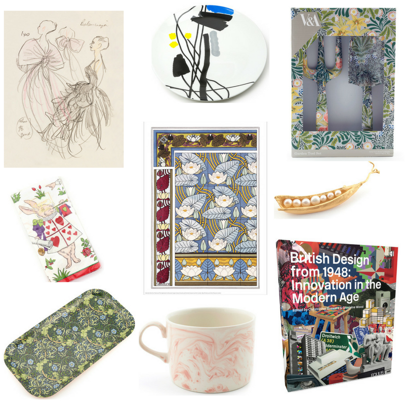 Victoria & Albert Museum Shop Collage