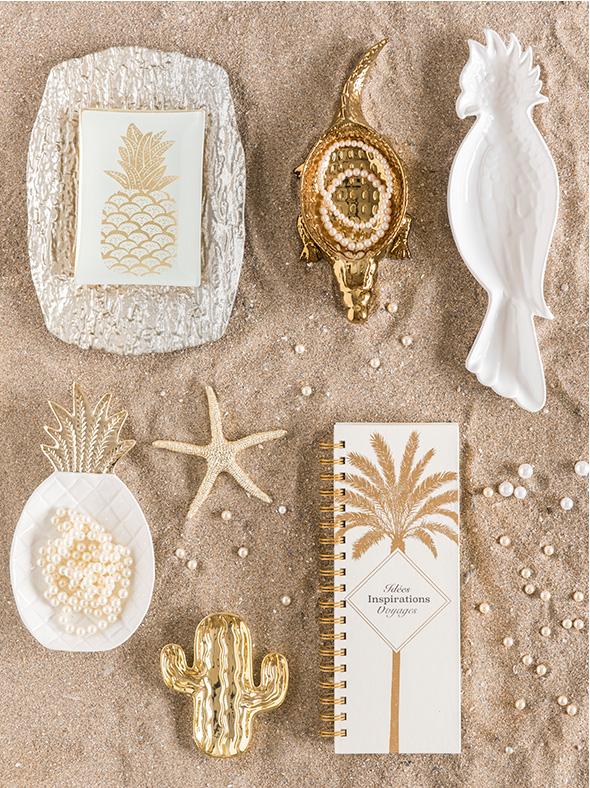 Maisons du Monde Spring-Summer 2018 collection, Golden Oasis tendency