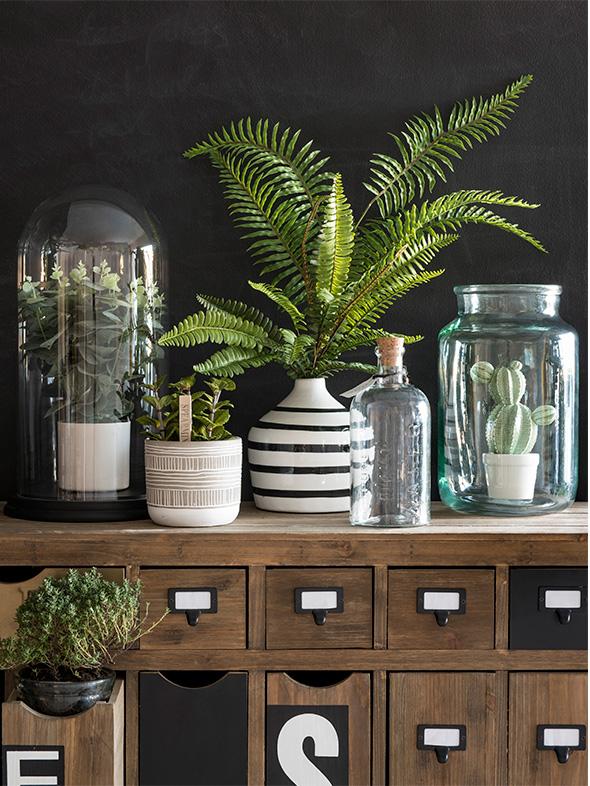 Maisons du Monde Spring-Summer 2018 collection, Green Market tendency