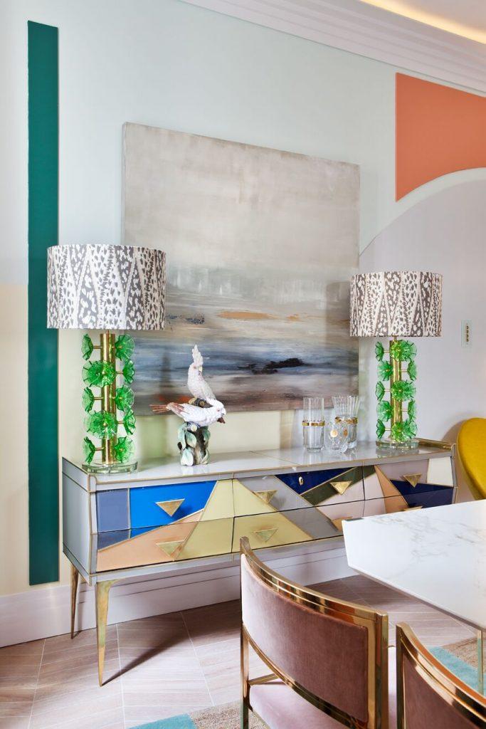 Dining room from AS Interiorista at Casa Decor 2018