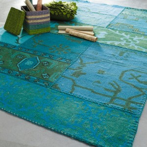 Blure patchwork rug from Maisons du monde