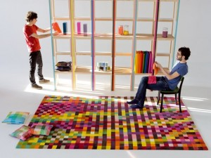 Digit rug from NaniMarquina