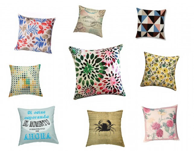 Furniture and home decor offers: cushions from Mimub