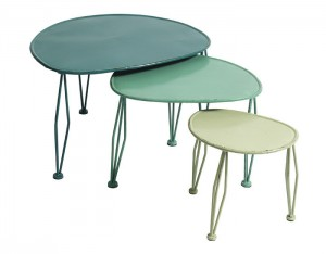 Set of green auxialiary tables