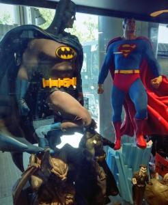 Batman vs Superman figures