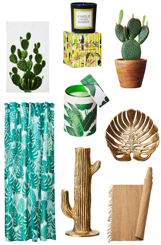 H&M Home Urban Jungle Products