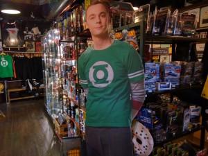 Cardboard Sheldon Cooper