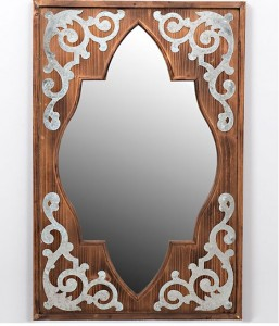 Morrocan style vintage mirror