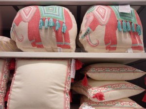 Primark elefant cushion