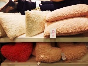 Pink cushions primark