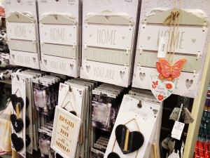 Wall decor from Primark