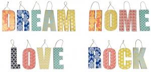 Collage Dream Home Love Rock