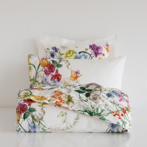 Zara Home floral pattern pillow cases