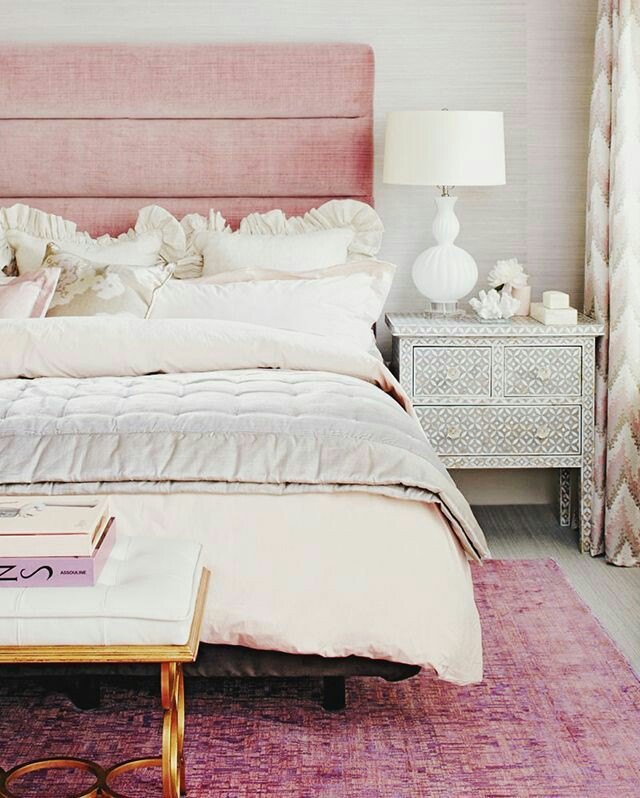 pink bedhead
