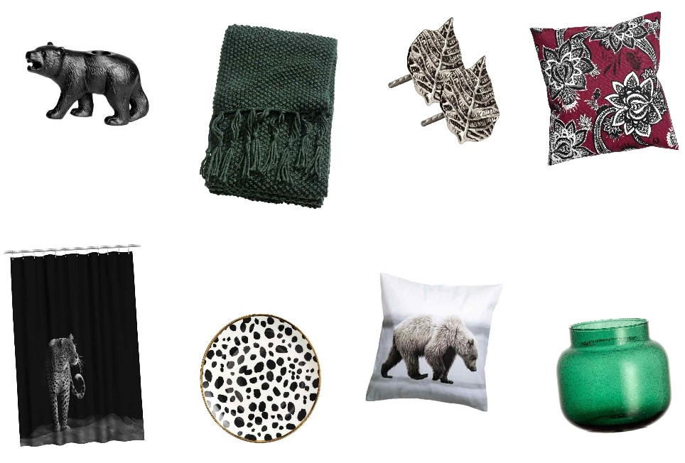 H&M Home wildlife