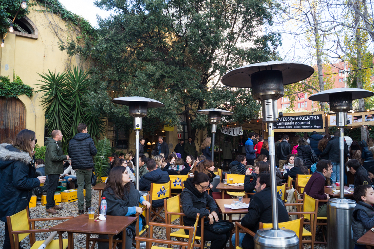 Palo Alto Market Barcelona food court