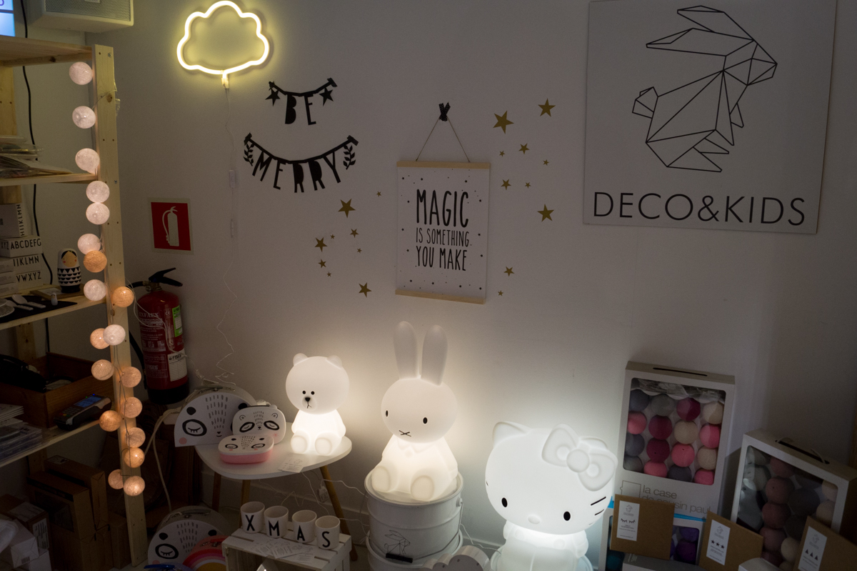 Deco&Kids at Singulares Inventory Room