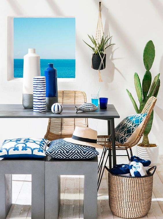 Escale tendency Maisons du Monde new spring collection