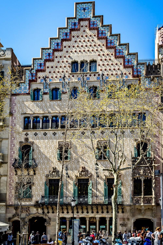 Casa Amatller Barcelona - facade