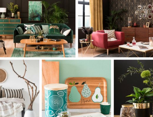 Maisons du Monde Autumn-Winter 2017 collage