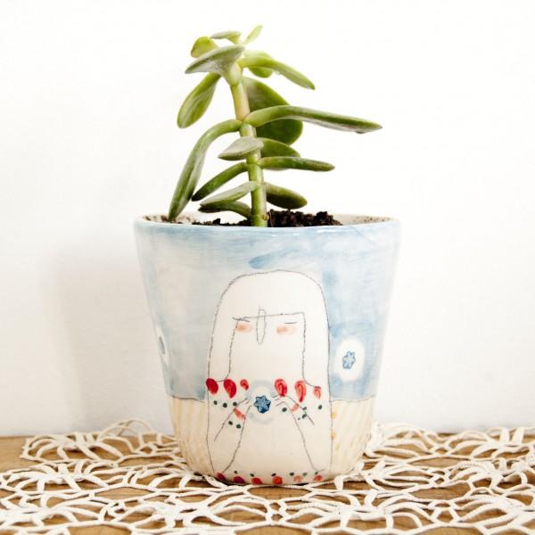 Silbando Bajito ceramics from Barcelona