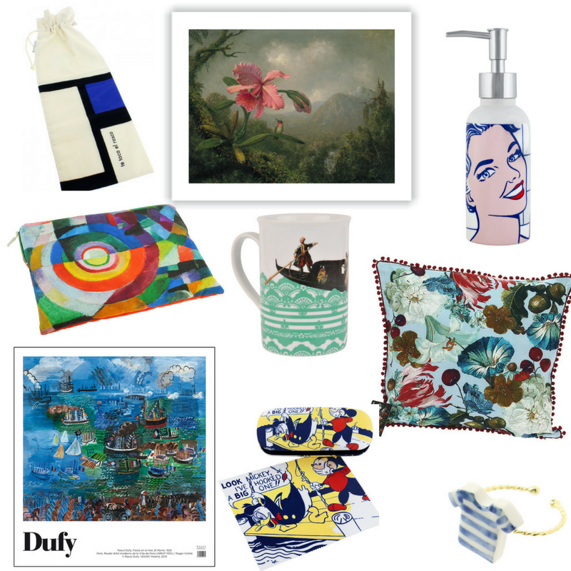 Thyssen Bornemisza Museum Shop Collage