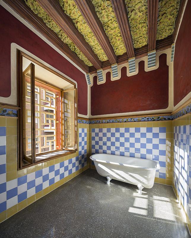 Casa Vicens Barcelona interiors