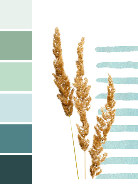 Maisons du Monde Spring-Summer 2018 Cabaña color palette
