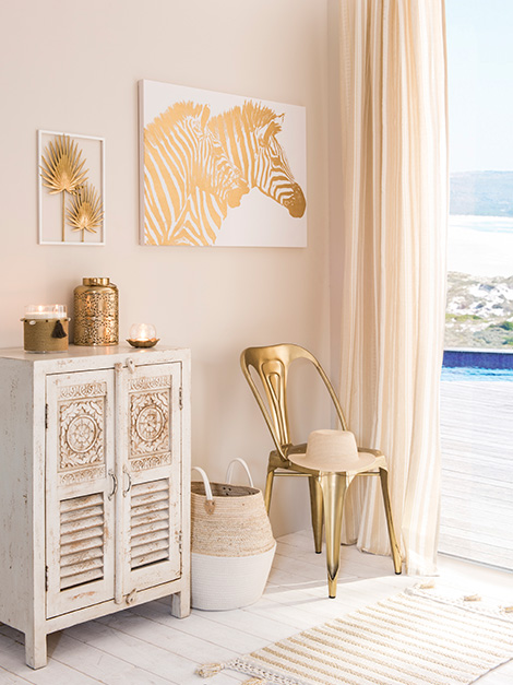 Maisons du Monde Spring-Summer 2018 collection, Golden Oasis tendency