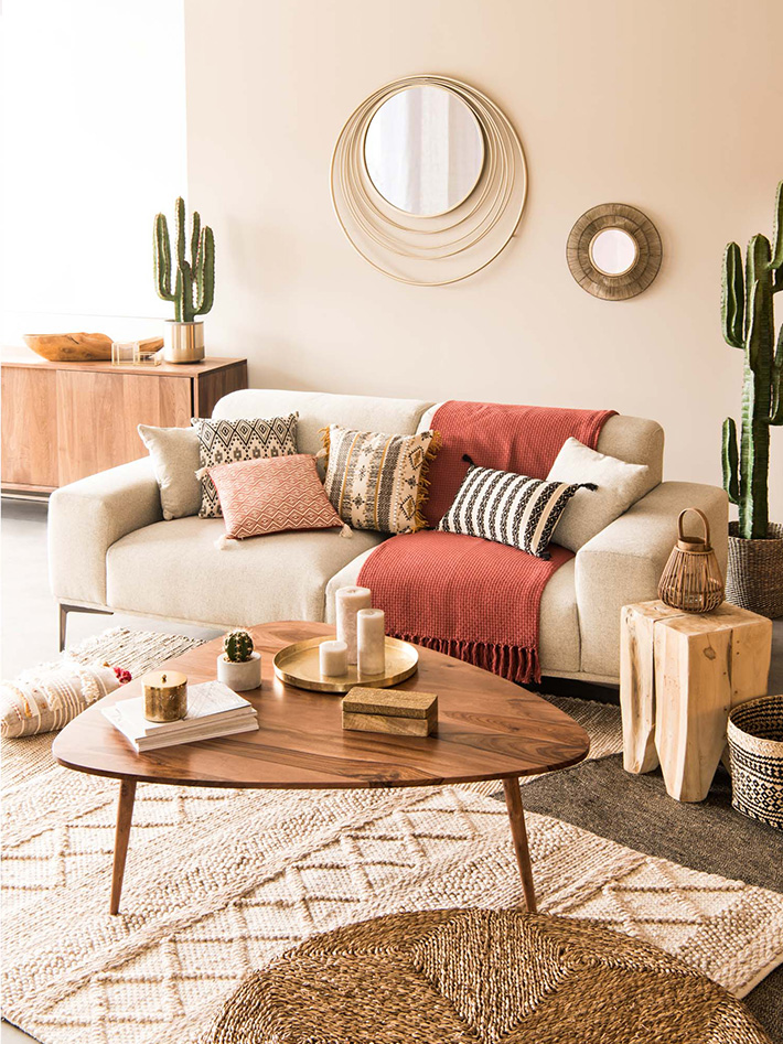 Maisons du Monde Spring-Summer 2018 collection, Hacienda tendency