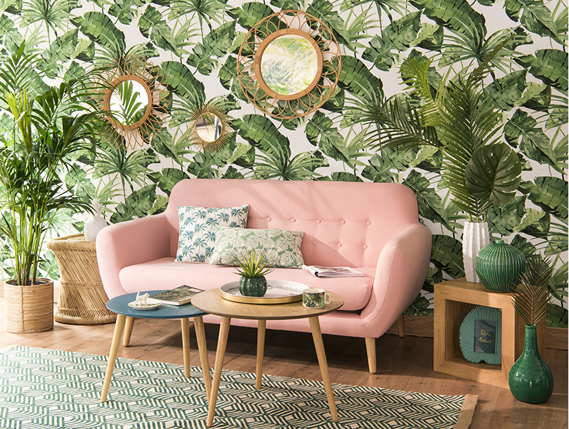 Maisons du Monde Spring-Summer 2018 collection, Sweet Tropical tendency